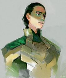 Loki by Barukurii