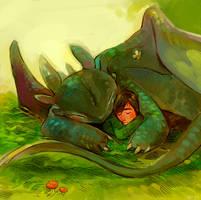 HTTYD Snugglins by Barukurii