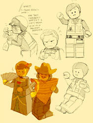 Lego Movie Doodles 3 by Barukurii