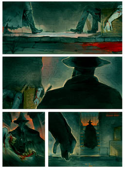 Eileen the Crow and Father Gascoigne PAGE 2 by Barukurii
