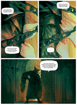 Eileen the Crow and Father Gascoigne PAGE 4 by Barukurii