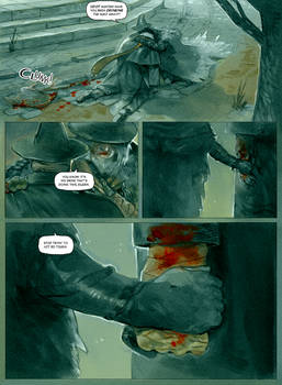 Eileen the Crow and Father Gascoigne PAGE 6 by Barukurii