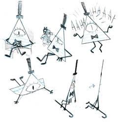 Bill doodles by Barukurii