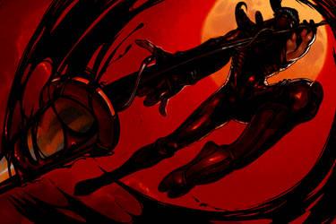 Ryu Hayabusa Collab Wallpaper by Barukurii