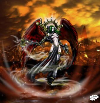 Chaos Lady... Iron Priestess by Axcido
