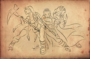 Durin's Angels by Axcido