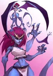 Demona Sycrafied by Sycra