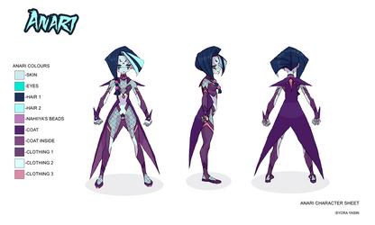 Anari Character Sheet by Sycra