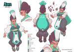 Naha Character Sheet by Sycra