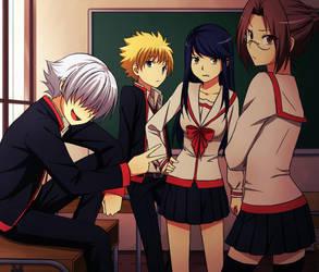 school by OlgaLightfly