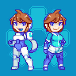 Carrie (Sprites) by Damenshi