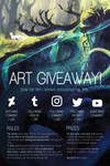 WINNER ANNOUNCED! | ART GIVEAWAY (CLOSED) by clockbirds