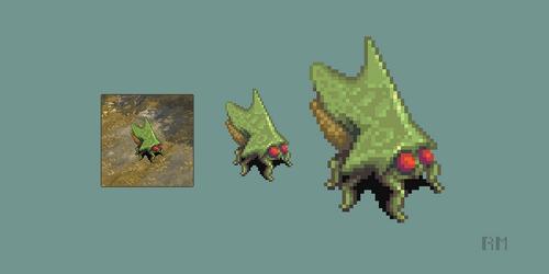 Thorn bug by RoboFoxChan