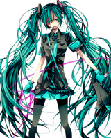 Hatsune Miku Png 6 by iamglee