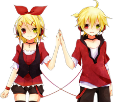 Rin Len Png 4 by iamglee