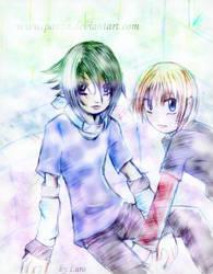 sasunaru : Joey and David by panza