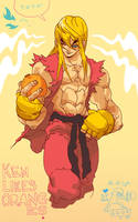 Ken Likes Oranges by reyyyyy