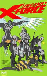 Uncanny X-Force by reyyyyy