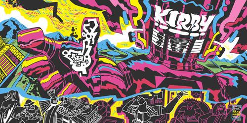 Jack Kirby Tribute by reyyyyy