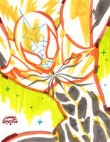 Spidermin - Marker by reyyyyy