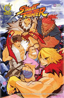 STREET FIGHTER NUM.14 COVER A by reyyyyy