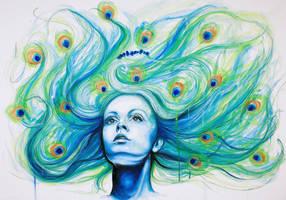 Metamorphosis-Peacock by KlarEm
