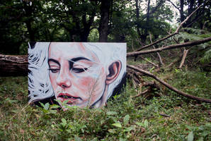 In the forest by KlarEm
