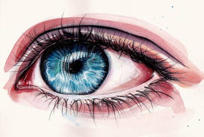 Eye painting by KlarEm