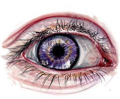 Eye painting by KlarEm