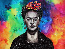 Frida Kahlo by KlarEm