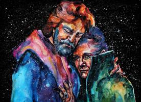 The Skywalker twins by KlarEm