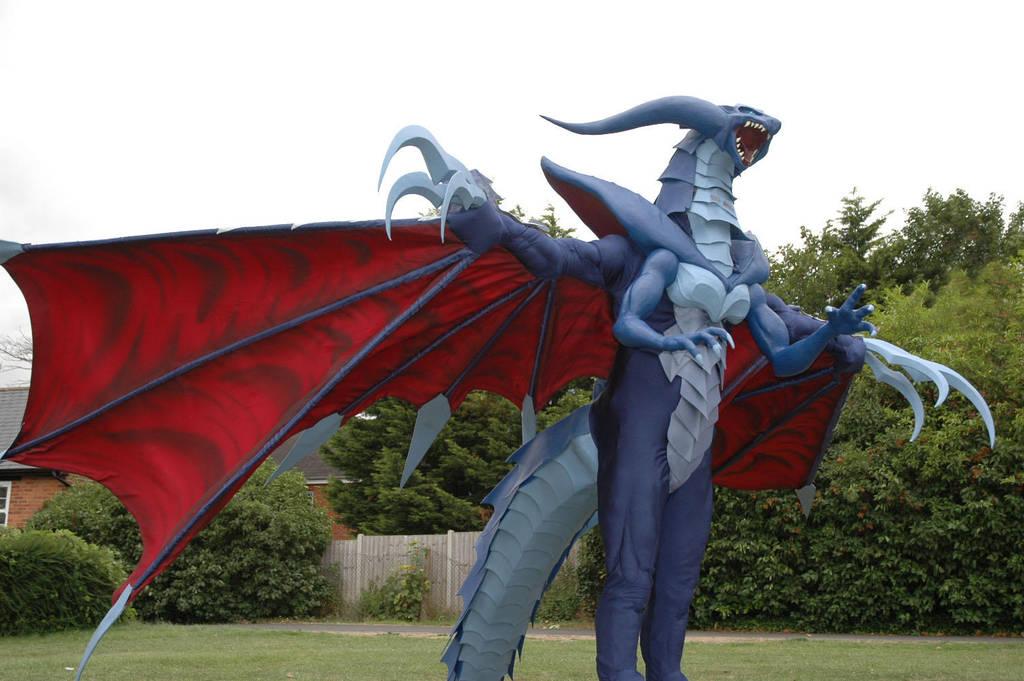 Final Fantasy VIII - Bahamut by calleymacleod
