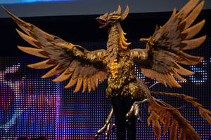 Final Fantasy XIV Firebird Mount Cosplay by calleymacleod