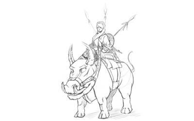 digital sketching #11052016 by tr4ze
