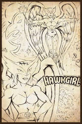 Hawkgirl by SteveMyers22