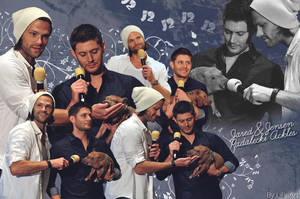J2 with Icarus the pig by LiFaAn