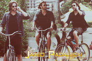 Jared Padalecki on bike by LiFaAn