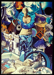 Feeling blue by JujuBrew