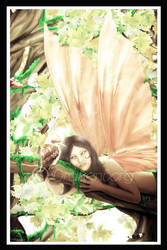 Wood fairy by Drakenborg