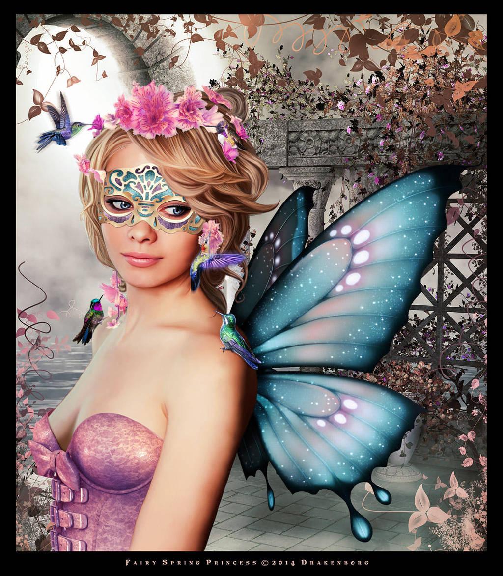Fairy spring princess by Drakenborg