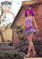 Purple delight by Drakenborg