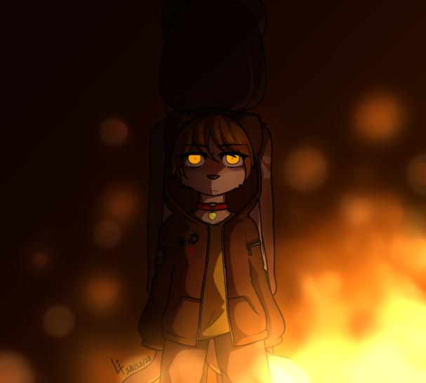 Watch me Burn, V by XBakaBakaKunX