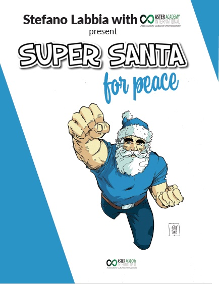Super Santa for Peace covers by StefanoLabbia