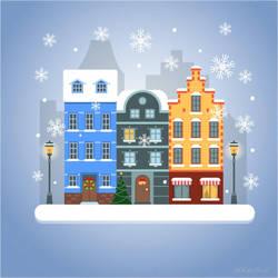 Wintercity-scene1 by whiteowl152