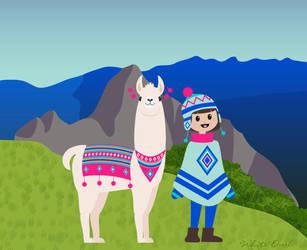 Llama1618 by whiteowl152