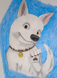 Disney's Bolt by blondewolf2