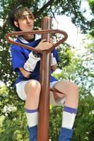 Sasuke likes to Climbs Tress by blondewolf2