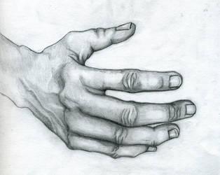 College: Still Life HAND by blondewolf2