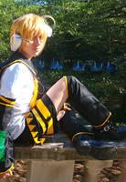 Len Kagamine Cosplay by blondewolf2