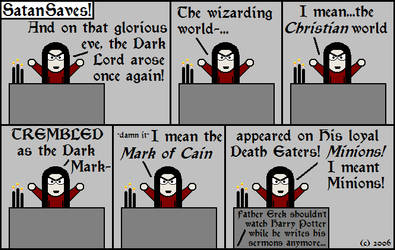 13---Harry Potter by SatanSaves